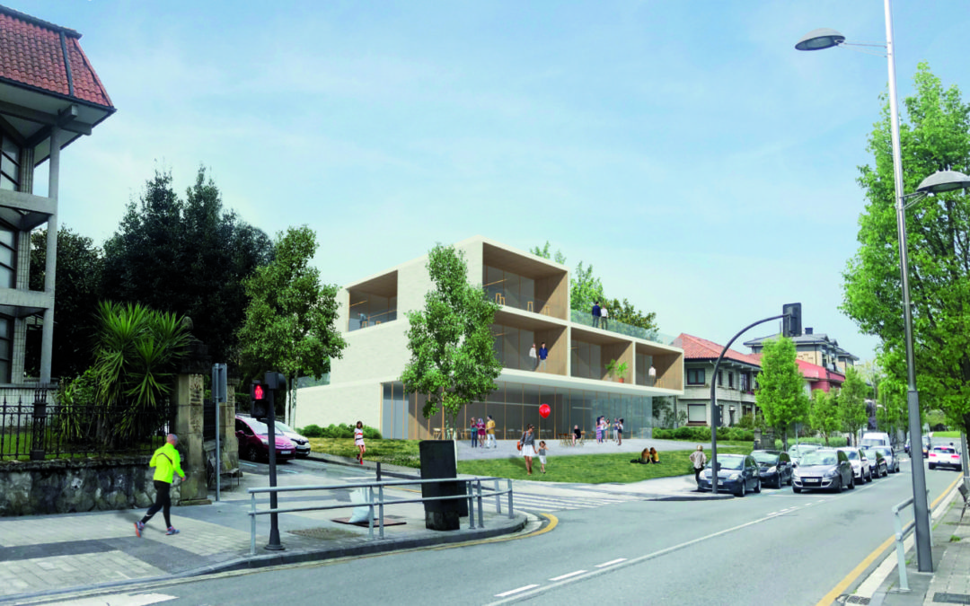 Un nuevo hotel de asociaciones en la avenida de Iparralde